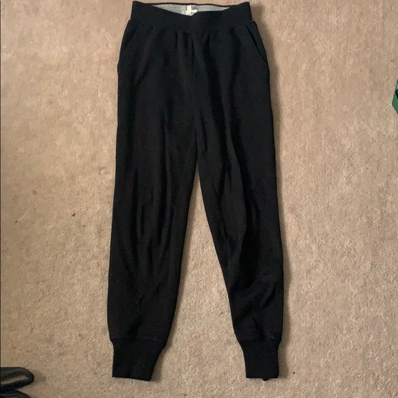 Wilfred Pants - Black ankle track pants